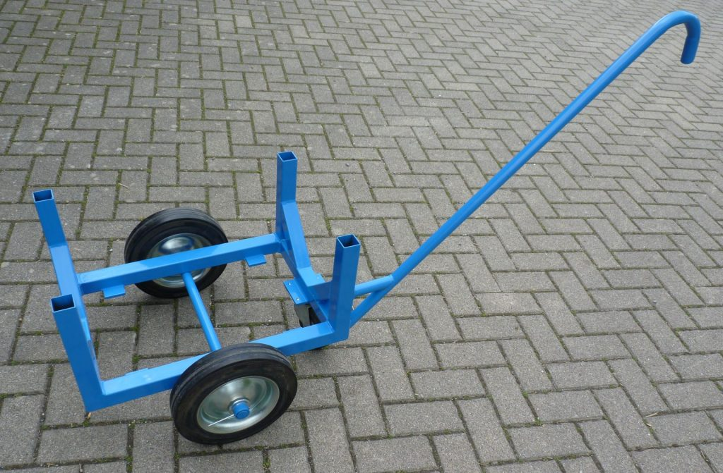 Rohrwagen, Plattenwagen, Rohrtransportwagen